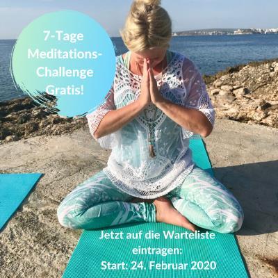 Kennst Du schon meine Gratis Meditationschallenge?