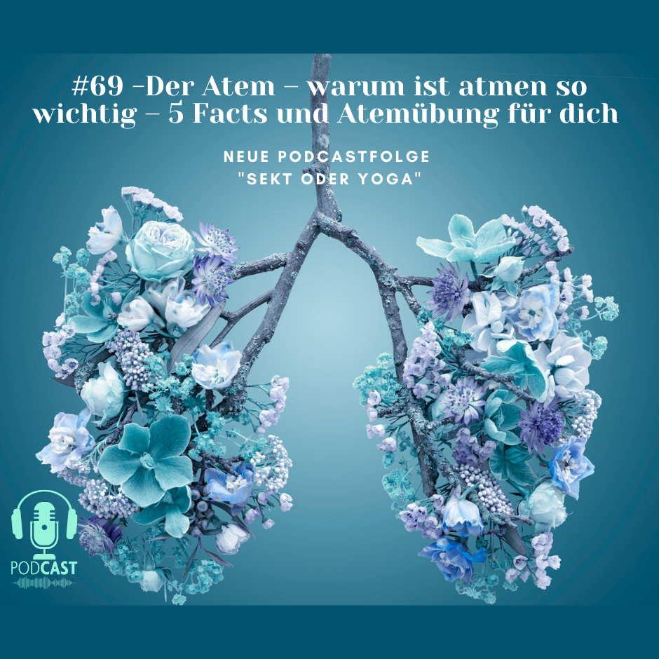 #69 – Der Atem – warum ist atmen so wichtig – 5 Facts und Atemübung für dich
